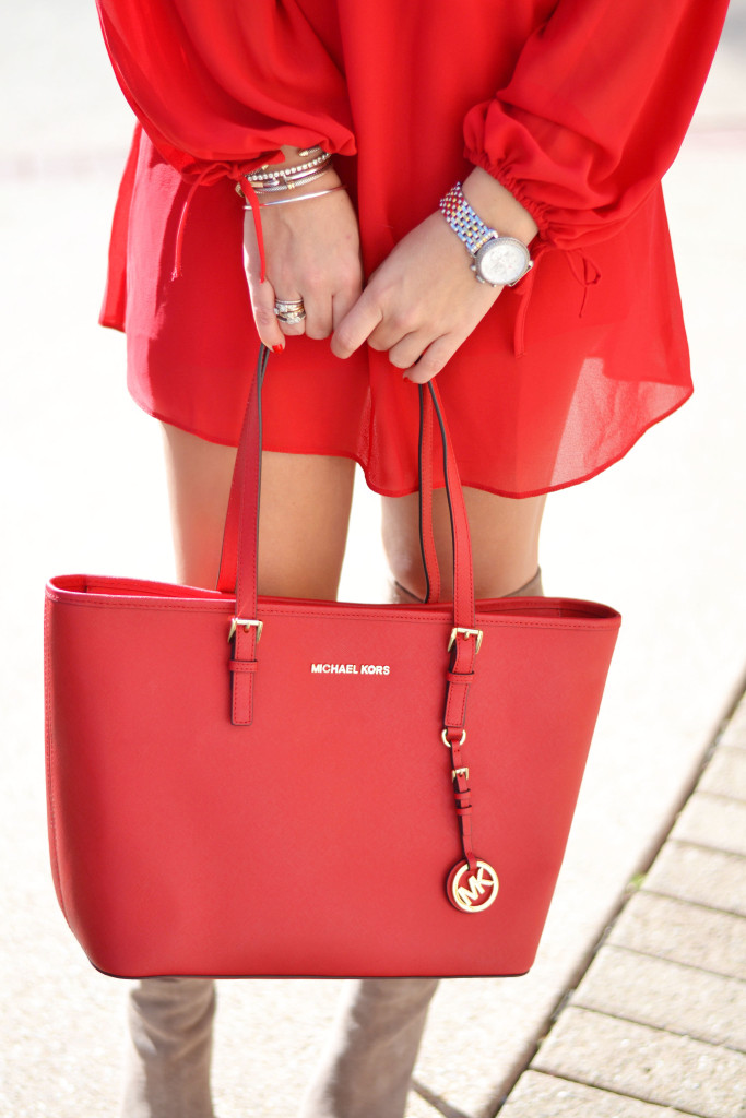 Valentine S Day Look Feeling Flirty In Red