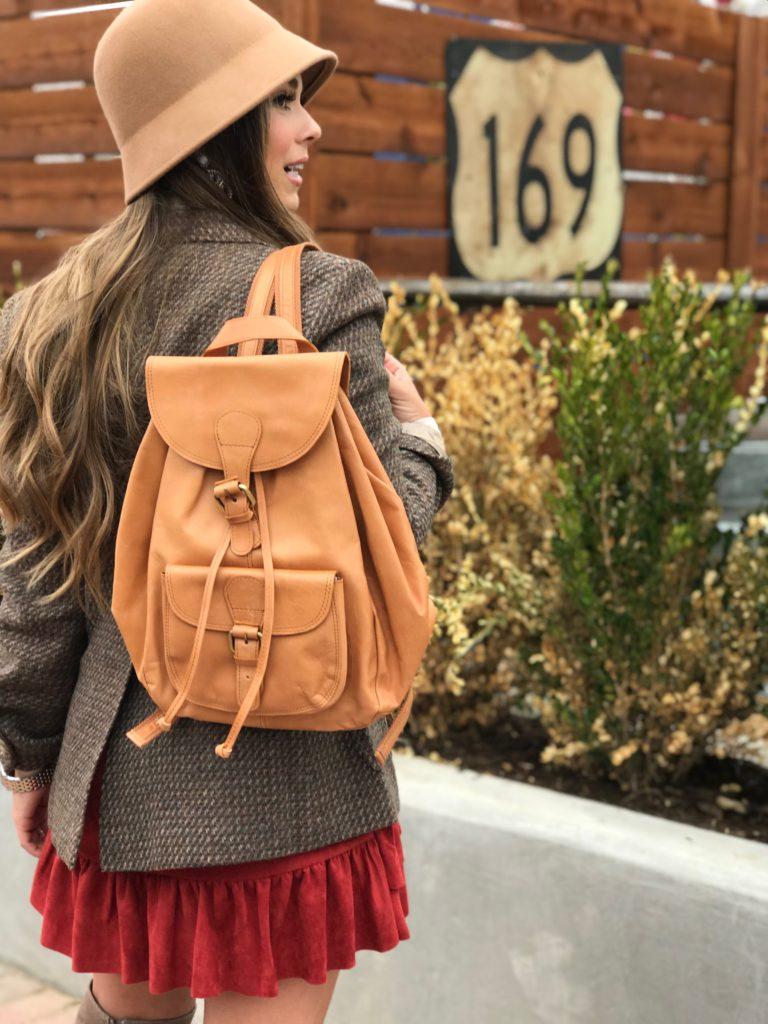fall fashion backpack