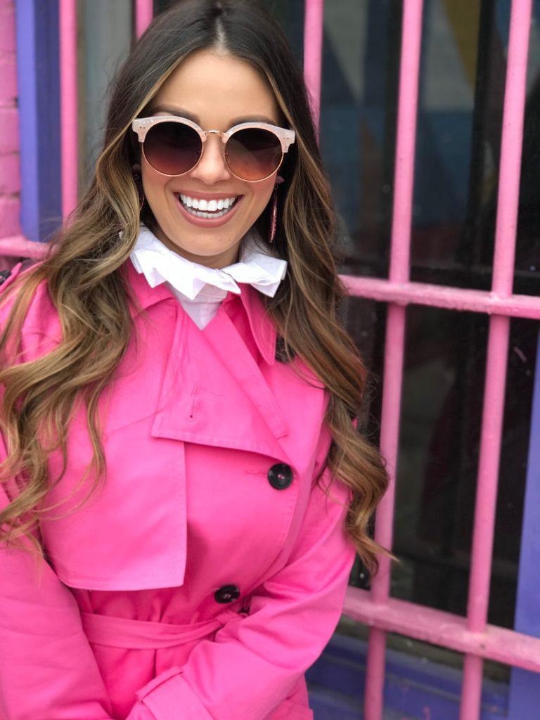 pink on pink fashion