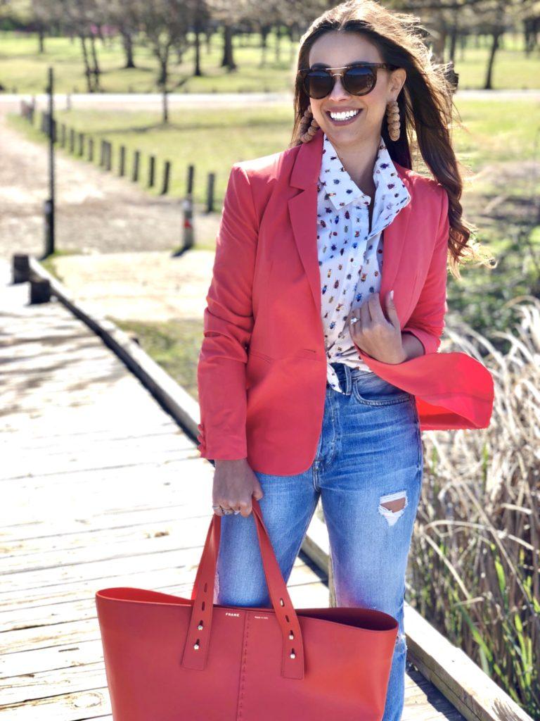 bright blazers, bright blazer, bright blazers for spring, spring fashion, spring style, dallas style, dallas fashion, best dallas blogger, best dallas style blogger, best dallas fashion blogger, best dallas lifestyle blogger, best blogger, best style blogger, best fashion blogger, best lifestyle blogger, meghan jones, the meghan jones, meghan jones dallas blogger
