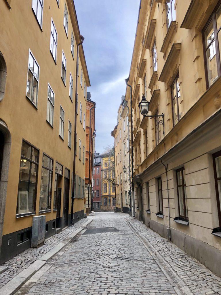 street stockholm sweden